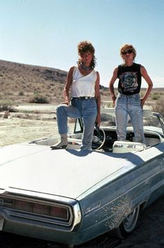 Thelma and Louise, and the third one they never old you about