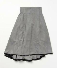 Demi-Luxe BEAMS(デミルクスビームス)のELIN / アシンメトリーフレアスカート(スカート)|詳細画像