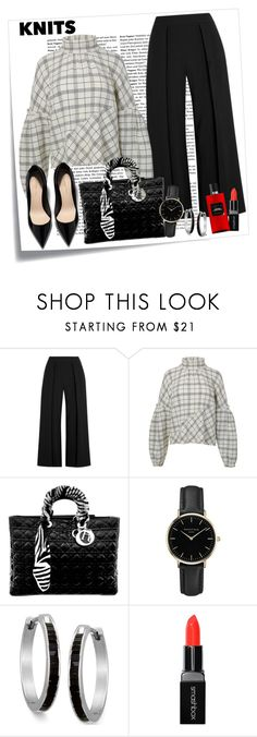 """Knits on the blocks"" by krista-zou on Polyvore featuring Post-It, rag & bone, TIBI, Christian Dior, ROSEFIELD, Smashbox, Hermès, knit, polyvorefashion and polyvorecontests"