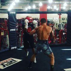 Work with world champion @beltranboxing yesterday #MMA #boxing #grappling #wrestling #hardwork #bjj #ironmichael #fasthands #knockout @bellatormma @monsterenergy @twamissouri @rivalboxinggear
