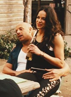 fast and furious, love, michelle rodriguez, vin diesel, fast 7 Letty Fast And Furious, Fast And Furious Actors, The Furious, Michelle Rodriguez, Movie Couples, Cute Couples, Vin Diesel Wife, Cuerpo Demi Lovato, Dom And Letty