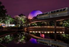 Epcot Evening Reflections