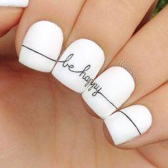 Minimalist Nail Art Ideas 98