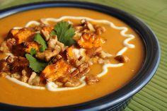 Southwest Sassy Sweet Potato Chowder - A Slow Cooker Recipe