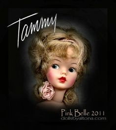 """images of tammy doll   Details about Ideal Tammy Doll """"Pink Belle 2011"""" - OOAK Ensemble"""