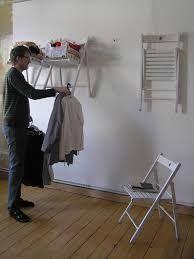 Résultats de recherche d'images pour «convert folding chairs into a shelf and closet»