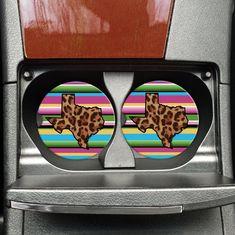 Cheetah Texas Serape – Travel Coasters – Coasters for your Car – Western Coasters – Rustic Coasters – Texas Car Accessories - New Site Jeep Decals, Truck Decals, Car Accessories For Girls, Truck Accessories, Lamborghini, Best Family Cars, Rustic Coasters, Car Gadgets, Cute Cars