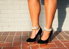 Glitter N Glue DIY Embellished Ankle Straps Part 2