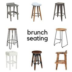 For those that want to enjoy the beauty of nature while still indoors, these counter stools provide the perfect balance between form and function. Made of solid wood, they have a natural burnt finish created by hand scorching. 30 Bar Stools, Counter Stools, Handsome Man, Breakfast Nook, Waffle, Strawberries, Solid Wood, Brunch, Indoor