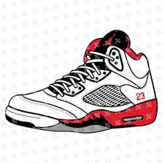 jordan shoes 3d vector files of gear 750049