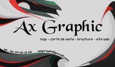 Carte de visite Ax Graphic