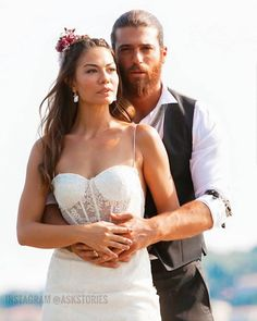 Turkish Women Beautiful, Turkish Beauty, Cute Couple Poses, Cute Couples, Famous In Love, African Prom Dresses, Fashion Tv, Bridal Gowns, Wedding Dresses