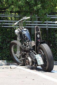 Chopper Bobber Springer #harleydavidsonchoppersawesome