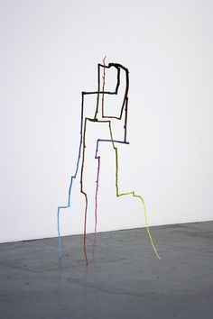 Evan Holloway, Rearranged Branch, 2012