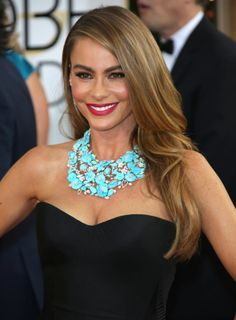 Sophia Vergara: The Golden Globes Red Carpet 2014