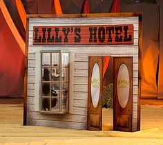 diy stage design props costumes western town - Google Search