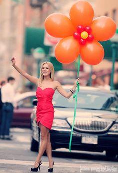 Kristen Cavallari + Balloons = Simply gorgeous