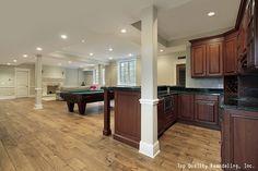 8 Proven Ways To A Better Basement | Interior Design #basement #mancave