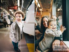 Family Portraits taken on a Train in Japan! Check them out!
