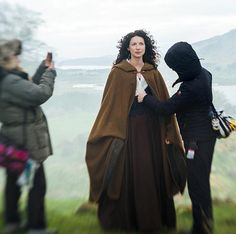 @caitrionambalfe Flawless as always in this New Pic from the #Outlander Set. via @Outlander_Starz Instagram