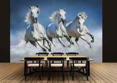 Fototapete Wandbild Pferd Free Spirit Tapete Kinderzimmer Wand 183 cm x 254 cm