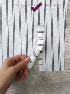 Cómo coser un puño con portañuela – Nocturno Design Blog