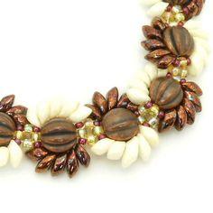 Genuine Copper Magatama Beadwork Bracelet Copper by TheJewelryBird, $30.00