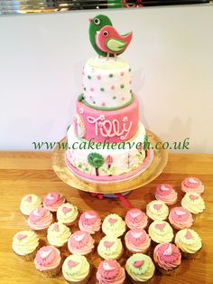 Tinkerbell cake 1st birthday cake girls cake birthday Tink