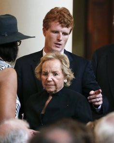 Ethel Kennedy and grandson Joseph Kennedy III
