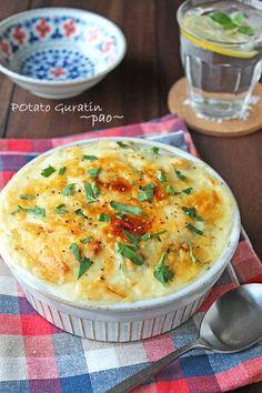 豆腐で作るヘルシーポテトグラタン☆フライパンで簡単に : ぱお 公式ブログ