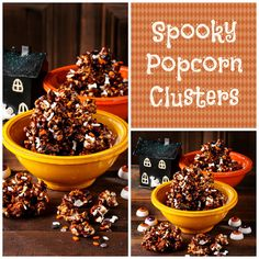 Spooky Popcorn Clusters | I Wasn't Expecting That