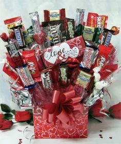 Candy Bar Bouquets Bouquet Gift Arrangements Crafts