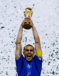 Cannavaro ! What an image!!! World Cup 2006