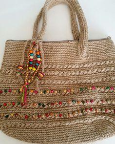 Crochet Wallet, Crochet Tote, Crochet Handbags, Crochet Purses, Diy Bags Purses, Diy Purse, Bag Pattern Free, Crochet Cap, Jute Bags