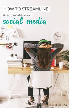 how to streamline and automate your social media presence