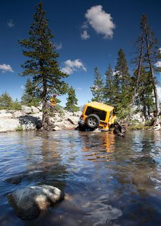 What is it about Wranglers and water?