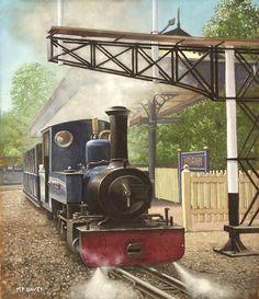 Exbury Gardens Narrow Gauge Steam Locomotive © Martin Davey