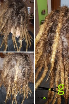 #beforeandafter #dreadlock #maintance. G SPot Hair Design Iowa City, We know folks like to install dreads themselves, but sometimes you need a lil help getting them back in shape.