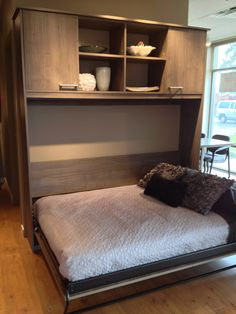 The Hudson. The newest Murphy Bed to enter our showroom. @Sharon Baxter