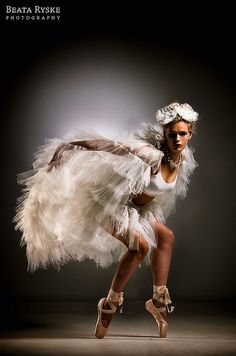 White Swan by ryskowa, via Flickr