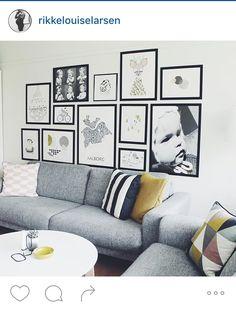 5 ideer til hvordan du hænger dine billeder op på væggene.