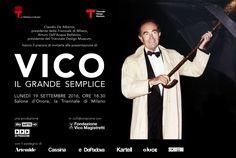 Artemide sponsor of Vico: il grande semplice