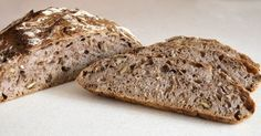 Perfect with white mould cheeses!  Scandinavian Bread: No-knead Walnut Pot Bread