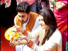 Gudi Padwacelebrates Gudi Padwa with Abhishek Bachchan