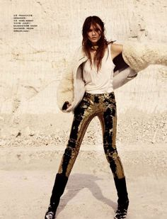 i love gold anything...   but i REALLY love gold pants!
