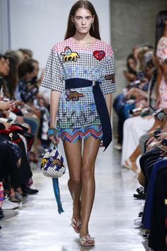 Peter Pilotto   Ready-to-Wear Spring 2017   Look 16
