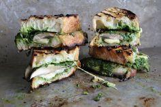 Portobello-Gouda-and-Kale-Pesto-Grilled-Cheese