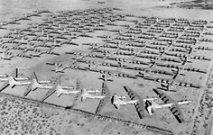 "air force jets of the 1950s | The ""Boneyard"" at Davis-Monthan Air Force Base 