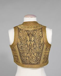 Albanian embroidered vest.