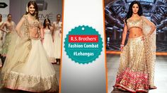 ‪#‎FashionCombat‬  Unveil the real traditional Diva in you, by wearing Designer ‪#‎Lehengas‬!  These kind of Lehengas always gives a special look in every event. Most of all mega Celebrities give their first preference for this traditional attires to grab all eyes on them! By the way In both who's looking more gorgeous in lehenga? Share your opinion in comments.